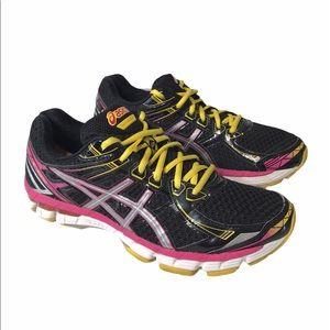 ASICS Black GT-2000 Running Shoes 9.5